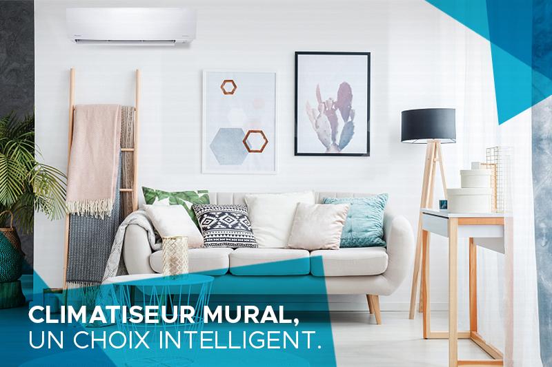 Climatiseur portatif ou mural